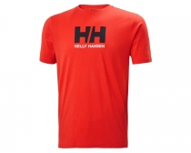 Helly Hansen LOGO T-SHIRT 222 ALERT RED