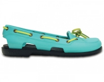 CROCS Women Beach Line Boat - pool/navy