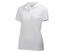 Helly Hansen - W CREW TECH POLO 001 WHITE /M - polokošeľa