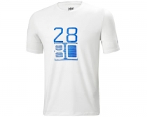 Helly Hansen - HP RACING T-SHIRT 002 WHITE - tričko