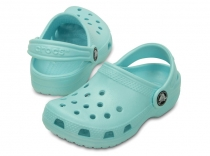 Crocs Kids' Classic Clog Ice Blue