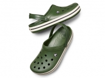 Crocs Crocband™ Clog - forest / stucco