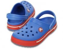 fdc71249307 Crocs Kids Crocband™ II.5 Clog - detské červenomodré