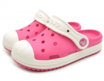 Crocs Bump It Clog Kids Candy Pink/Oyster