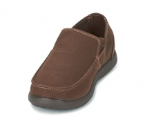 Crocs Santa Cruz Clean Cut Loafer - expresso/expresso
