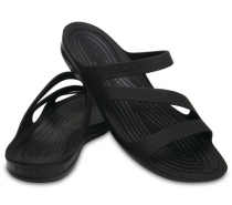 Crocs Swiftwater Sandal Women Paradise Black/Black