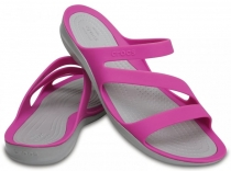 Crocs Women's Swiftwater Sandal - vibrant violet