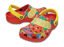 Crocs Classic Fruit II Clog - flame