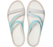 Crocs Swiftwater Seasonal Sandal W Pool Ombre/White