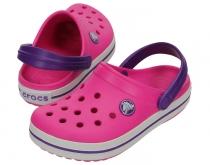 9dce26c6bfb Crocs Kids Crocband™ - detské fialovoružové