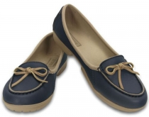 Crocs Women Wrap ColorLite™ Ballet Flat - navy