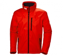 Helly Hansen CREW HOODED JACKET 147 CHERRY - jachtárska bunda
