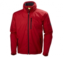 Helly Hansen CREW HOODED JACKET pánska červená bunda