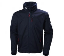 Helly Hansen CREW HOODED JACKET 597 NAVY - bunda