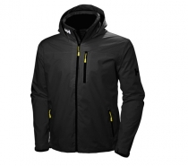 Helly Hansen CREW HOODED JACKET 990 - čierna bunda