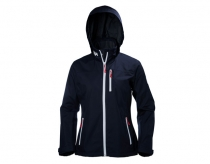 Helly Hansen Crew Hooded Midlayer Dámska Bunda Navy