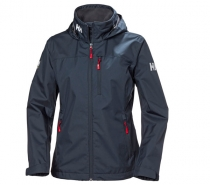 Helly Hansen W CREW HOODED JACKET 598 NAVY