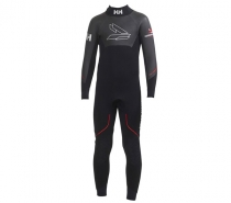 Helly Hansen JR BLACKLINE FULL SUIT Černé