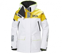 HELLY HANSEN W SKAGEN OFFSHORE JACKET 001WHITE - dámska offshore