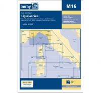 Imray mapa M16 Ligurian Sea
