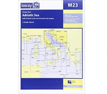 Imray mapa M23 Adriatic Sea Passage Chart