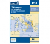 Imray mapa M30 Southern Adriatic and Ionian Sea