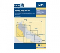 Imray mapa M33 Adriatic Italy (North)