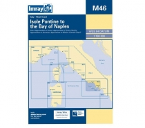Imray mapa M46 Isole Pontine to the Bay of Naples