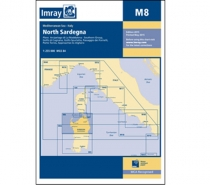 Imray mapa M8 North Sardegna