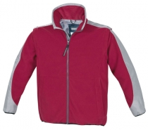 Marinepool Stockholm Fleece Jacket - pánska bunda červená