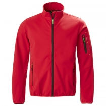 Musto crew softshellová pánska bunda true red