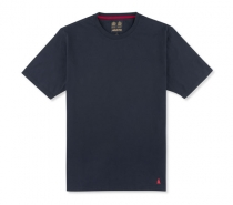 Musto Basic Cotton Crew Tee True Navy - tričko