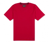 Musto Basic Cotton Crew Tee True Red - tričko