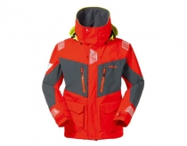 Musto BR2 Offshore jacket - pánska bunda fire orange/dark grey