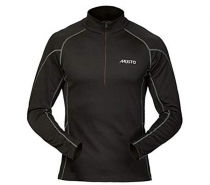 Musto Thermal Base Layer Zip Neck Black