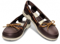CROCS Woman Beach Line Boat espresso