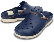 CROCS Beach Line Clog - navy
