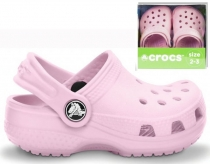 Crocs Kids Littles - bubble gum