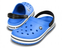 CROCS Crocband Varsity Blue / Black