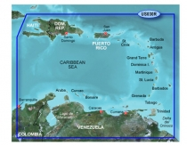 BlueChart G2 GARMIN - HXUS030R / Southeast Caribbean / REGULAR
