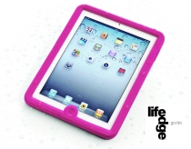 Lifedge waterproof case for iPad 2/3 pink
