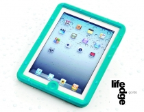 Lifedge waterproof case for iPad 2/3 blue