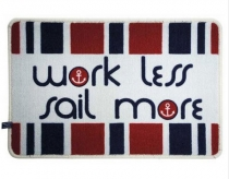 Marine Business - rohož - Work less sail more