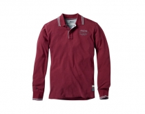 Musto L/S Polo red