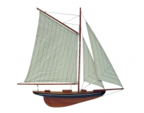 Model plachetnice - 56 cm