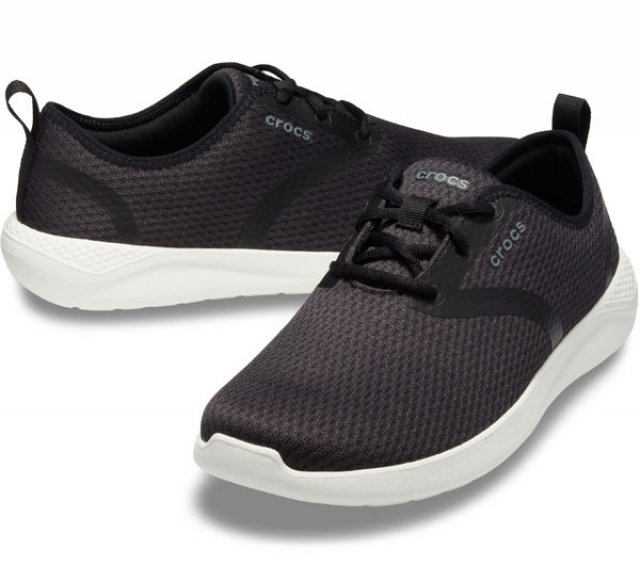 Crocs LiteRide Mesh Lace  Black/White